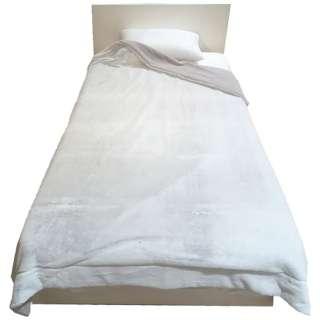 MOFUMOFU 毛布(ラビットファー) MD9064F(シングルサイズ/140×200cm/グレー)[生産完了品 在庫限り]