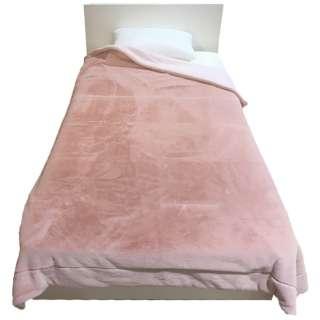 MOFUMOFU 毛布(ラビットファー) MD9064F(シングルサイズ/140×200cm/ピンク)[生産完了品 在庫限り]