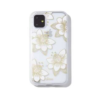 iPhone 11 6.1インチ  Clear Coat Desert Lily (White) 292-0279-0011