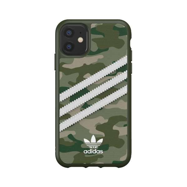 iPhone 11 6.1インチ  OR Moulded Case CAMO SAMBA WOMAN green 36374