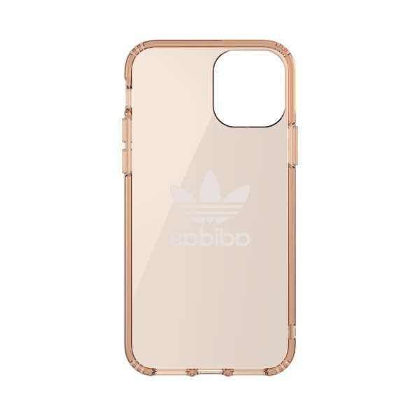 iPhone 11 Pro 5.8インチ OR Protective Clear Case Big Logo roseGD 36413