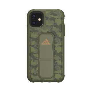 iPhone 11 6.1インチ  SP Grip case CAMO Tech olive 36422
