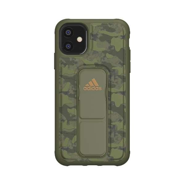 iPhone 11 6.1インチ  SP Grip case CAMO Tech olive 36422
