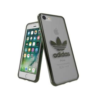 iPhone 7/8 OR-clear case - Military Green logo 37381