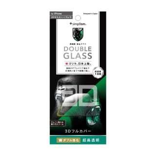iPhone 11 Pro 5.8インチ   ダブル強化立体シームレスゴリラガラスBK TG-IP19S-GM3-WGOCCBK