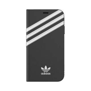 iPhone 11 6.1インチ  OR Booklet Case SAMBA black/white 36538