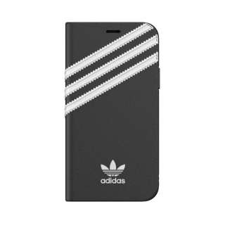 iPhone 11 Pro 5.8インチ OR Booklet Case SAMBA black/white 36539