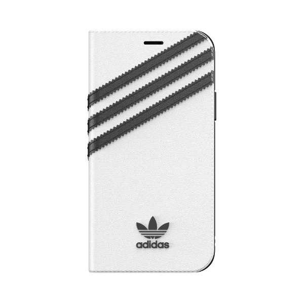 iPhone 11 Pro 5.8インチ OR Booklet Case SAMBA white/black 36542