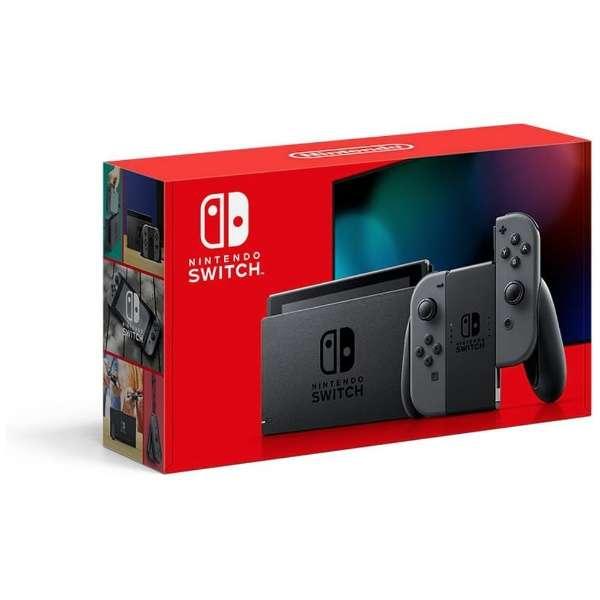 Nintendo Switch Joy-Con(L)/(R) グレー [2019年8月モデル] [ゲーム機本体]