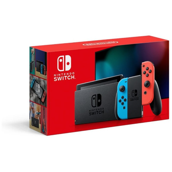 Nintendo Switch Joy-Con(L) ネオンブルー/(R) ネオンレッド [2019年8月モデル]