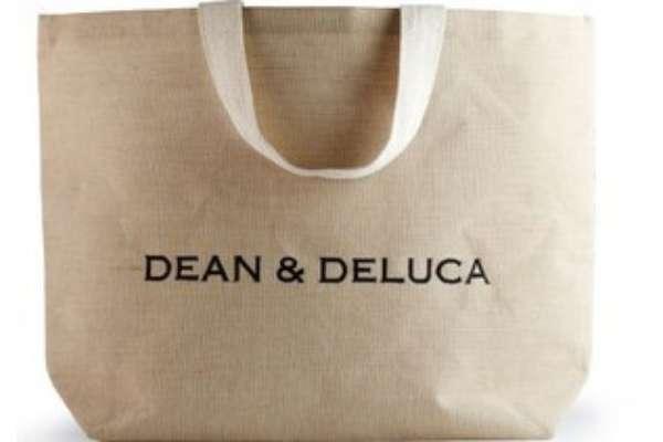 DEAN&DELUCA(ディーンアンドデルーカ)「NATURAL COTTON JUTE LARGE」
