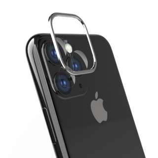 iPhone 11 6.1インチ カメラレンズ保護セット シルバー TR-IP19M-LBPP-SL
