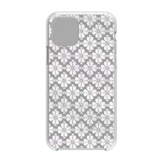 iPhone 11 Pro 5.8インチ  Hardshell SPADE FLOWER pearl foil/CG KSIPH-130-SFPRL