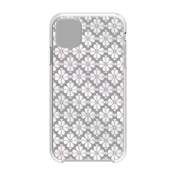 iPhone 11 6.1インチ   Hardshell SPADE FLOWER pearl foil/CG KSIPH-131-SFPRL