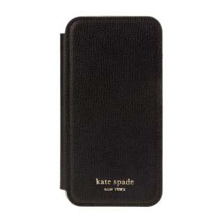 iPhone 11 6.1インチ  Inlay Folio black pu KSIPH-143-BLK