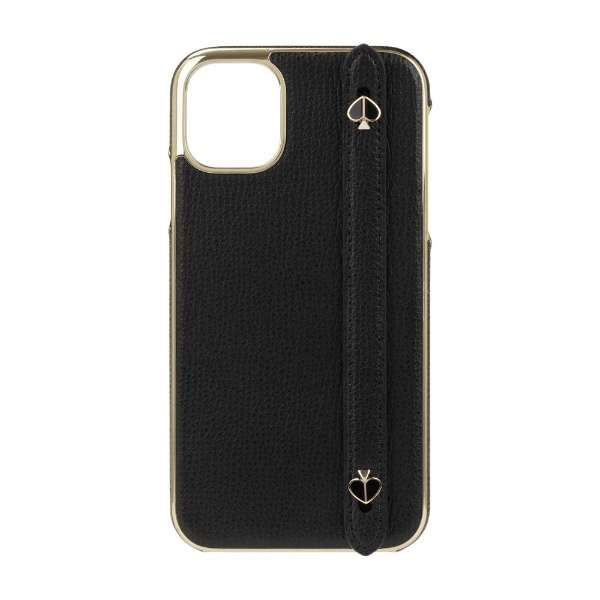 iPhone 11 6.1インチ  WRAP WITH STRP SPADES black crumbs KSIPH-146-BLKC
