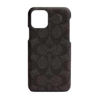 iPhone 11 Pro 5.8インチ コーチ Coach SLIM WRAP ケース SIGNATURE C WRAP Black CIPH-016-SCBLK