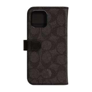 iPhone 11 Pro 5.8インチ コーチ Coach WALLET ケース SIGNATURE C FOLIO Black CIPH-019-SCBLK
