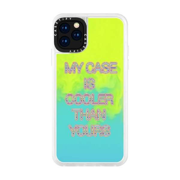 iPhone 11 Pro 5.8インチ MY CASE IS COOLER THAN YOURS CTF-5137279-16000100