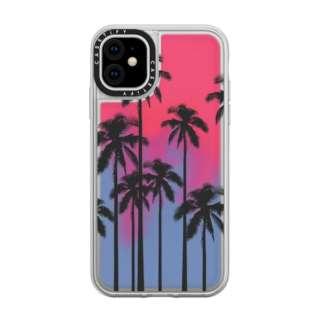 iPhone 11 6.1インチ  Black Summer Palm Tree CTF-2829994-16000105