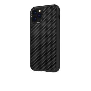 iPhone 11 Pro 5.8インチ Robust Case Real Carbon Black 1090RRC02