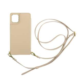 iPhone 11 6.1インチ  ケース Cross Body Case beige ML-CSIP19M-2CBBE