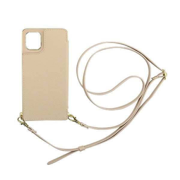 iPhone 11 6.1インチ  ケース Cross Body Case beige ML-CSIP19M-2CBBE