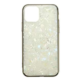iPhone 11 6.1インチ  ケース Glass Shell Case gold UNI-CSIP19M-0GSGD