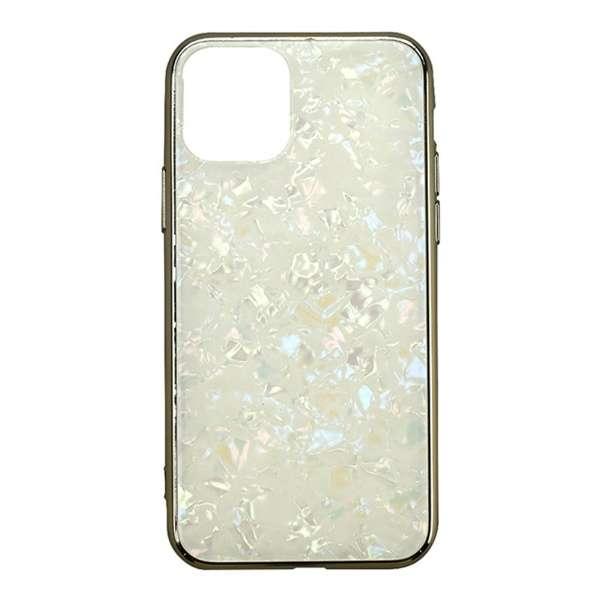 iPhone 11 6.1インチ  ケース Glass Shell Case gold UNI-CSIP19M-0GSGD