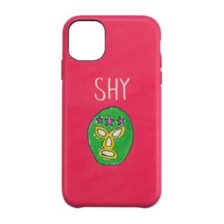 iPhone 11 6.1インチ  ケース OOTD CASE SHY mask man UNI-CSIP19M-2OOSH