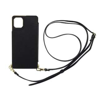 iPhone 11 6.1インチ  ケース Cross Body Case black ML-CSIP19M-2CBBK