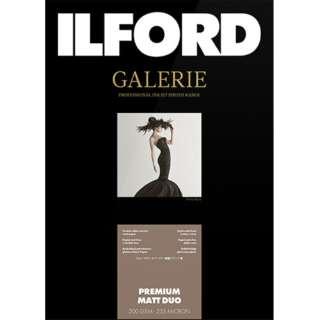 イルフォードギャラリープレミアムマットデュオ 200g/m2 (A4・50枚) ILFORD GALERIE Premium Matt Duo 422151