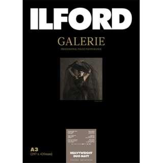 イルフォードギャラリーヘビーウェイトデュオマット310g/m2(A3・25枚)ILFORD GALERIE Heavyweight Duo Matt 422189