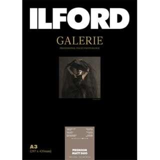 イルフォードギャラリープレミアムマットデュオ 200g/m2 (A3・25枚) ILFORD GALERIE Premium Matt Duo 422249