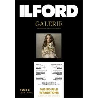 イルフォードギャラリーモノシルクウォームトーン 250g/m2 (102x152・100枚) ILFORD GALERIE Mono Silk Warmtone 422178
