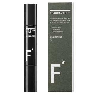 F'(エフダッシュ) フレグランショット スティック型練り香水 無香料 3g LB10010003g01
