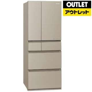 【アウトレット品】 冷蔵庫 HPXタイプ [6ドア /観音開きタイプ /450L] NR-F454HPX-N マチュアゴールド 【生産完了品】