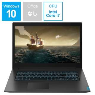 ideapad L340 Gaming ゲーミングノートパソコン ブラック 81LL003UJP [17.3型 /intel Core i7 /HDD:1TB /Optane:16GB /メモリ:16GB /2019年8月モデル]