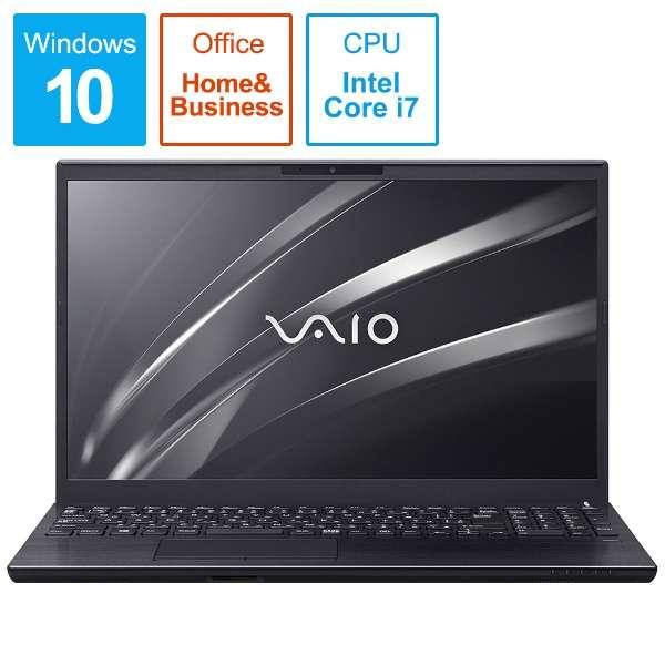 VAIO S15 ノートパソコン ブラック VJS15390311B [15.6型 /intel Core i7 /HDD:1TB /メモリ:8GB /2019年9月モデル]
