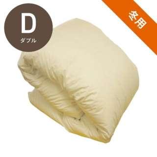 本掛け羽毛布団 FUHD19[ダブル(190x210cm)/冬用/ハンガリー産ホワイトダックダウン90%/日本製]