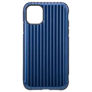 Rib Hybrid Shell Case for iPhone 11 6.1インチ NVY CHCRB-IP02NVY