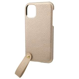 TAIL PU Leather Shell Case for iPhone 11 6.1インチ GLD CSCTL-IP02GLD