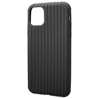 Rib Light TPU Shell  for iPhone 11 6.1インチ  BLK CSCRL-IP02BLK