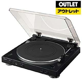 【アウトレット品】 レコードプレーヤー [USBメモリ録音 /フォノイコライザー内蔵] DP200USBK 【外装不良品】