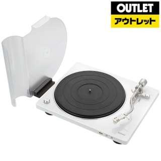 【アウトレット品】 レコードプレーヤー [USBメモリ録音 /フォノイコライザー内蔵] DP450USBWTEM 【外装不良品】