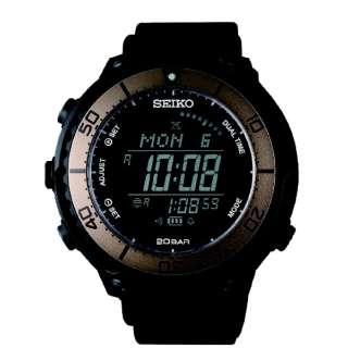 【ソーラー時計】プロスペックス(PROSPEX) フィールドマスター LOWERCASEプロデュース SBEP025