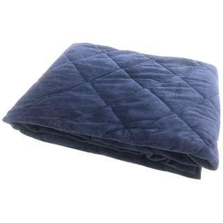 【敷パッド】両面使える敷パッド セミダブルサイズ(120×205cm/ブルー)