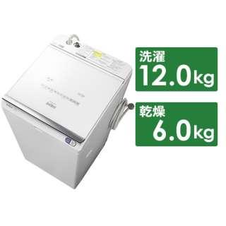 BW-DX120E-W 縦型洗濯乾燥機 ビートウォッシュ ホワイト [洗濯12.0kg /乾燥6.0kg /ヒーター乾燥(水冷・除湿タイプ) /上開き]