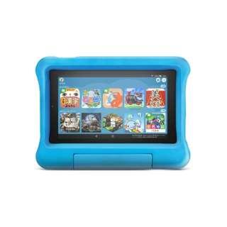 B07H8RV5BD Fire 7 タブレット キッズモデル ブルー (7インチディスプレイ) 16GB Amazon ブルー [7型 /ストレージ:16GB /Wi-Fiモデル]