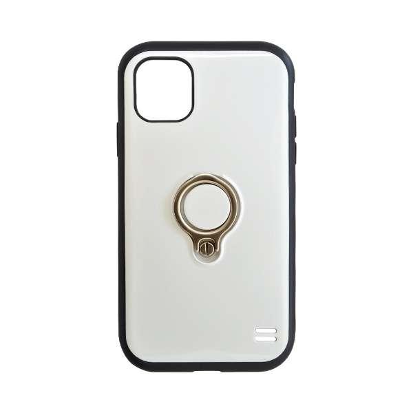 iPhone 11 6.1インチ モデル VANILLA PACK Ring 5078IP961HB ホワイト